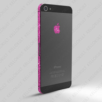 iPhone 5 Sparkling Rose Wrap