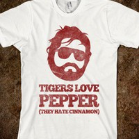 Tigers Love Pepper  - Galaxy Cats