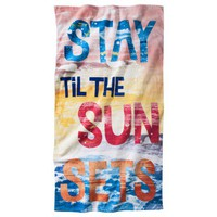 Stay Til The Sun Sets Beach Towel