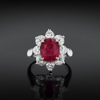 Estate Jewelry, Ruby Ring, Diamond Jewelry ~ M.S. Rau Antiques