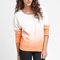 Kirra Dip Dye Studded Crew Neck Fleece