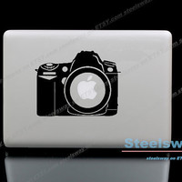 Camera - Mac Decal Macbook Stickers Macbook Decals for Macbook Pro / Macbook Air / iPad / iPad2 / The New iPad/ iPad mini