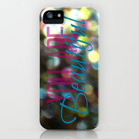 You Are Beautiful iPhone Case by RDelean | Society6