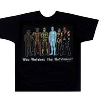 Watchmen Group Shot Adult T-Shirt