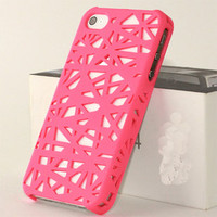 Fashion Bird Nest Concept Hard Cover Case For Iphone 5