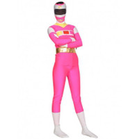 Lycra Full Body Pink and White Shiny Metallic Super Hero Zentai Suit [TZEN143] - $33.99 : Zentai, Sexy Lingerie, Zentai Suit, Chemise