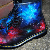 Hand painted Union Jack Inspired Galaxy Space by jflellomartinez