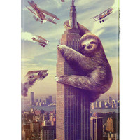 Slothzilla iPhone 4 & 4S Hard Case