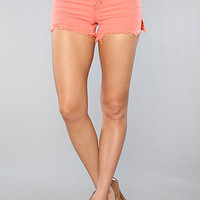 The Rugged Cut Off Short in Melon : Free People : Karmaloop.com - Global Concrete Culture