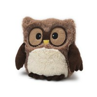 "Amazon.com: Hooty Owl Brown - 10"" Cozy Plush Heatable Lavender Scented Bedtime Soft Toy: Health & Personal Care"