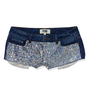 Bling Denim Short - PINK - Victoria&#x27;s Secret