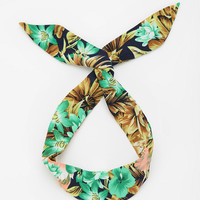 Urban Outfitters - Tropical Flower Headwrap