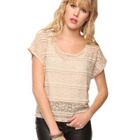 Ruffled Lace Top | FOREVER21 - 2002928468