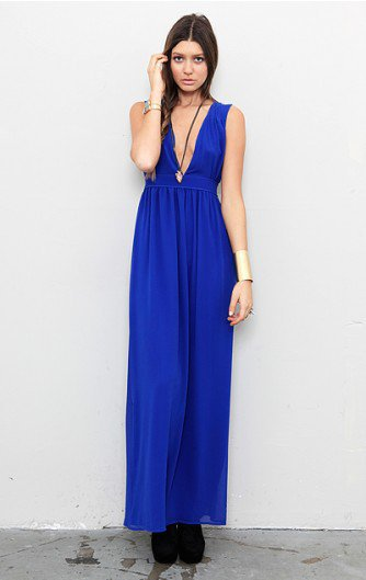 Keepsake - Bye Bye Baby Maxi Dress - NEW