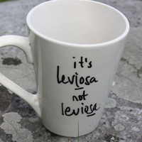 Leviosa Harry Potter Mug by ArkhamAccessories on Etsy