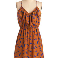 Meet Me at Sunset Dress in Love Birds | Mod Retro Vintage Dresses | ModCloth.com