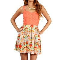 Light Coral Sundress