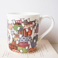 colourful sheep mug by mary kilvert | notonthehighstreet.com