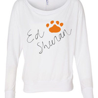 Ed Sheeran Pawprint Signature Style Shirt