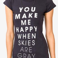 Happy Skies Tee | FOREVER 21 - 2023452641