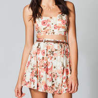 LOTTIE & HOLLY Floral Two Piece Skirt