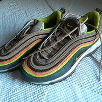 RARE! NICE NIKE Air Max  Rainbow colors womens sneakers, Size 8
