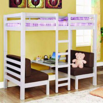 Amazon.com: Twin Convertible Loft Bed: Home & Kitchen