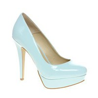 ASOS PERFECT Patent Platform Court Shoe