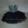 Charming Sweetheart Mini Strapless Short Prom Dress/homecoming