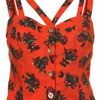 Rosebud Latino Suntop - Tops  - Apparel  - Topshop USA