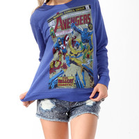 The Avengers Terry Pullover | FOREVER21 - 2017306466