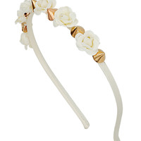 Mini Floral Spike Headband - Prom - Collections - Topshop USA