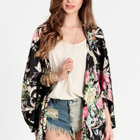 Japanese Garden Open Cardigan - $46.00 : ThreadSence, Women&#x27;s Indie &amp; Bohemian Clothing, Dresses, &amp; Accessories