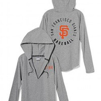San Francisco Giants Oversized Pullover Hoodie - PINK - Victoria's Secret