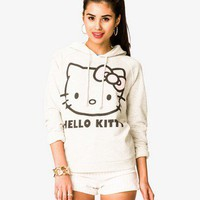 Heathered Hello Kitty Hoodie | FOREVER21 - 2037806405