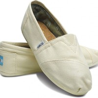 Natural Canvas Classics | TOMS.com