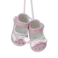 Baby Girl Shoes Ornament