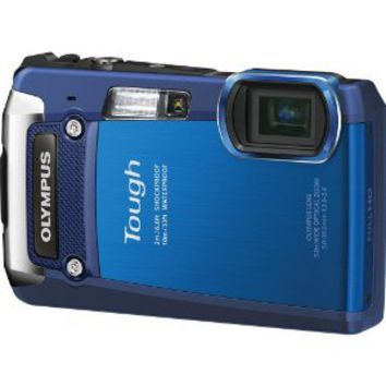 Amazon.com: Olympus Digital Camera TG-820 Blue: Camera & Photo