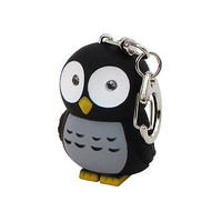 Hooting Owl Key Chain
