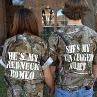 Camo Short Sleeve Matching Tee SET