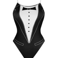 Splish Tuxedo at SwimOutlet.com - Free Shipping
