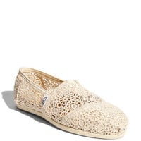 TOMS 'Classic' Crochet Slip-On (Women) | Nordstrom