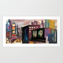 Times Square Art Print by Danielle Rose Fisher