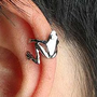 The Frog Prince Hugging Ear Cuff  | LilyFair Jewelry