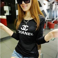 womens girl T-shirt T shirt Tank long Shirt