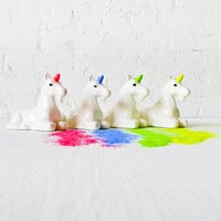 Neon Unicorn GLITTER DISPENSER - Magic Rainbow Sparkle that GLOWS