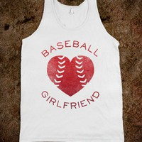 Baseball Girlfriend (Red Tank) - Sports Girl