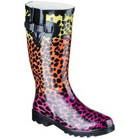 Target : Women&#x27;s Banji Cheetah Rain Boot : Image Zoom