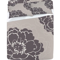 DENY Designs Home Accessories | Caroline Okun Winter Peony Sheet Set