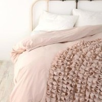Corner Bloom Ruffle Duvet CoverOnline Only!